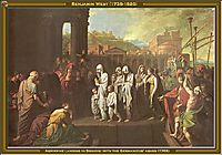 Agrippine Landing at Brundisium with the Ashes of Germanicus, 1768, west