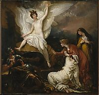 The Angel of the Lord Announcing the Resurrection, 1805, west