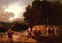 Calypso-s Reception of Telemachus and Me, 1801, west