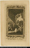 A Conference held between some Indian Chiefs and Colonel Bouquet, in the Year 1764, west
