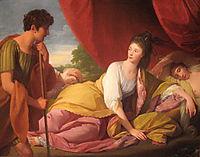 Cymon and Iphigenia, 1773, west
