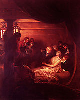 The Death Of Nelson, 1808, west