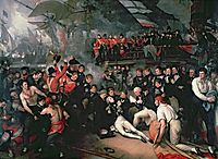 The Death of Nelson, 21st October 1805, 1806, west