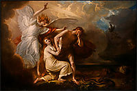 The Expulsion of Adam and Eve from Paradise, 1791, west