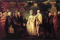 His Majesty George III Resuming Power, c.1789, west