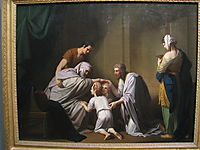 Jacob Blessing Ephraim and Manasseh , 1768, west