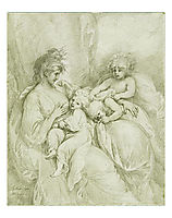Maternity, 1784, west