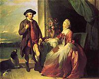 Mr. Robert Grafton and Mrs. Mary Partridge Wells Grafton, 1773, west