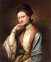 Portrait of Ann Barbara Hill Medlycott, 1788, west