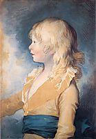Portrait of Prince Octavius, 1783, west