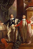 Princes William and Edward, 1778, west