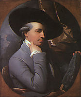 Self portrait, 1770, west