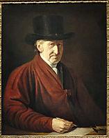 Self Portrait, 1819, west