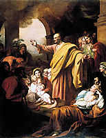St. Peter Preaching at Pentecost, west