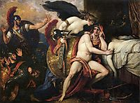 Thetis Bringing the Armor to Achilles , 1808, west