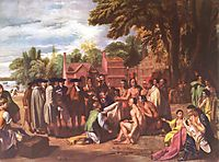 The Treaty of Penn with the Indians, 1772, west