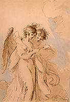 Two Angels Singing, west