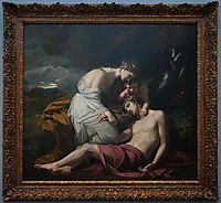 Venus Lamenting the Death of Adonis, 1768, west
