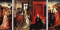 The Annunciation, 1440, weyden
