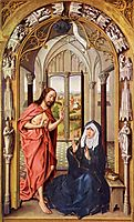 Christ appears to Mary, 1430, weyden