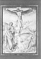 Christ on the cross, weyden