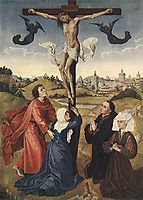 Crucifixion, 1445, weyden