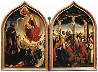 Diptych of Jeanne of France, weyden