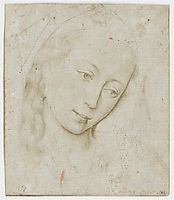Head of the Virgin, weyden