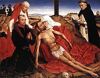 Lamentation, 1441, weyden