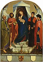 Madonna with the saints, weyden