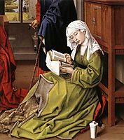 The Magdalene Reading , 1445, weyden