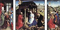 Pierre Bladelin Triptych, 1450, weyden