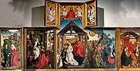 Polyptych with the Nativity, weyden
