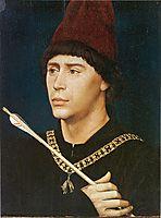 Portrait of Antoine, bastard of Burgundy, 1460, weyden