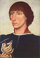 Portrait of Francesco d-Este, 1460, weyden