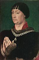 Portrait of Jean le Belliqueux, 1451, weyden