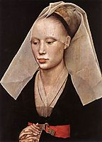 Portrait of a Lady, 1460, weyden