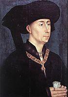 Portrait of Philippe le Bon , 1450, weyden