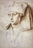 Portrait of a Young Woman, 1440, weyden