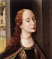 Saint Catherine, 1445, weyden