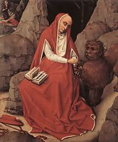 Saint Jerome and the Lion, 1450, weyden