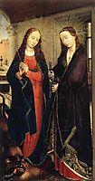 Saints Margaret and Apollonia, 1450, weyden