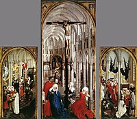 Seven Sacraments Altarpiece, 1450, weyden