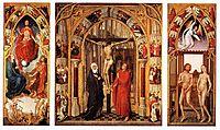 Triptych of the redemption, 1459, weyden