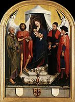 Virgin with the Child and Four Saints, weyden