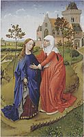Visitation of Mary, 1445, weyden