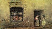 An Orange Note: Sweet Shop, 1884, whistler
