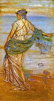 Annabel Lee, 1890, whistler