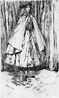Annie Haden, 1860, whistler