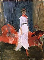 Arrangement in Pink, Red and Purple, 1884, whistler